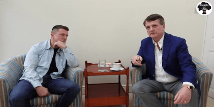 Gerard Batten talks to Tommy about Trump and the US elections