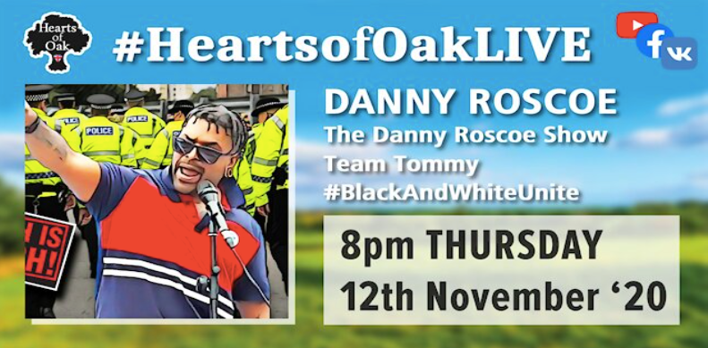 Livestream with Danny Roscoe