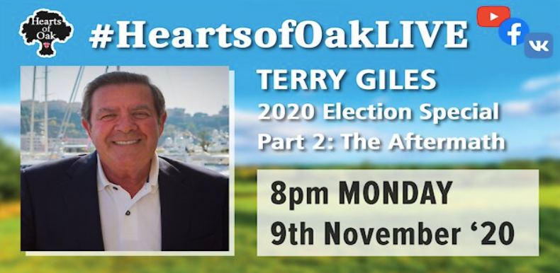 Trump 2020 US Election aftermath special with Terry Giles