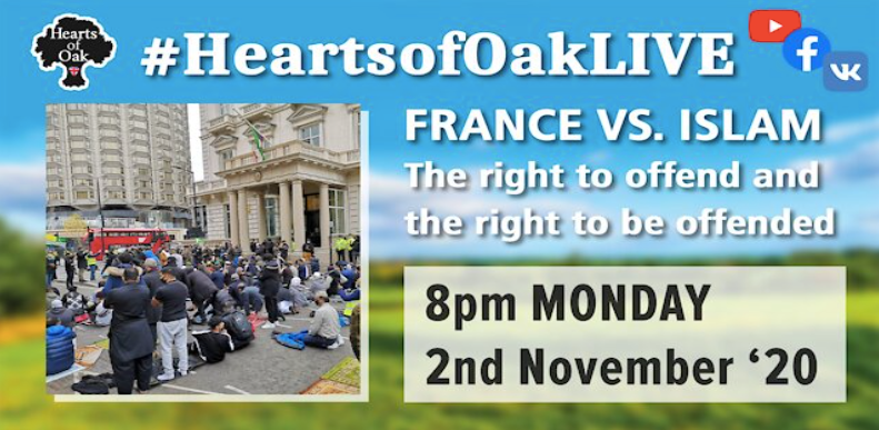 France vs Islam. The right to be offended and the right to offend with guest Jay Smith