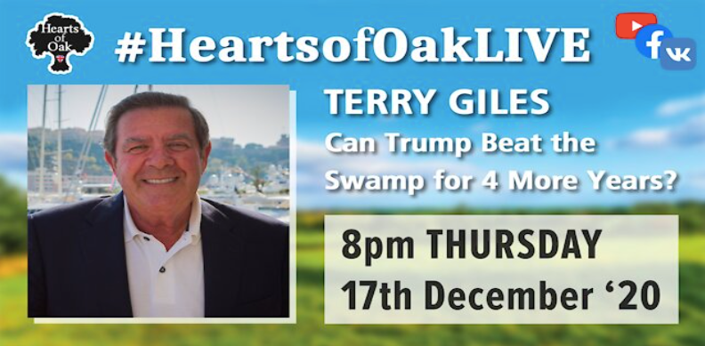 Terry Giles gives us the latest update on Trump 2020
