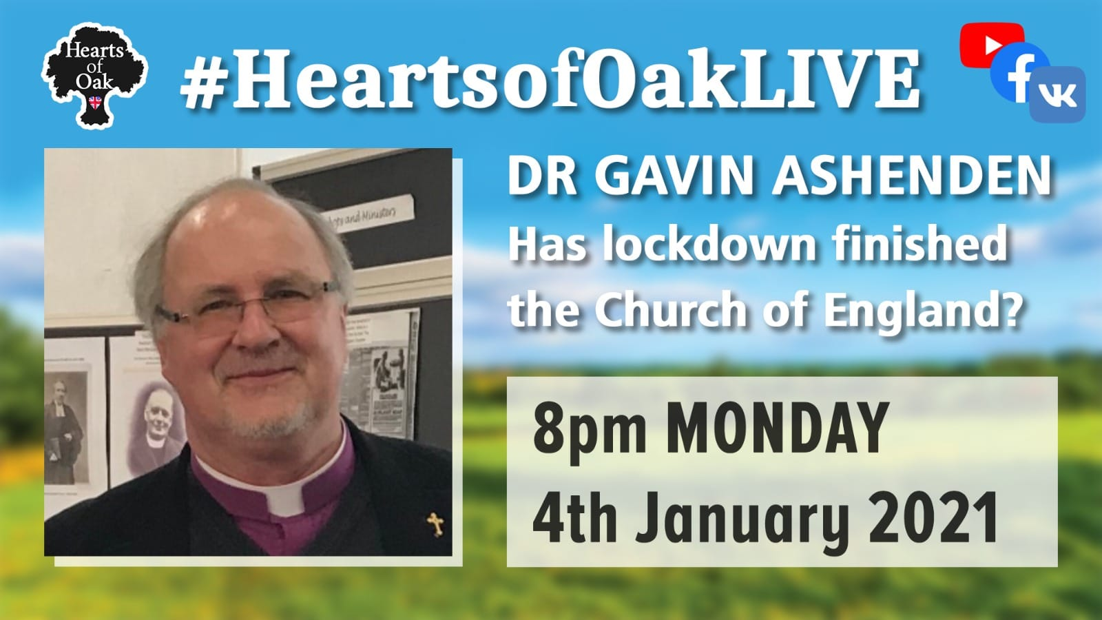 Has lockdown finished the Church of England? with Dr Gavin Ashenden
