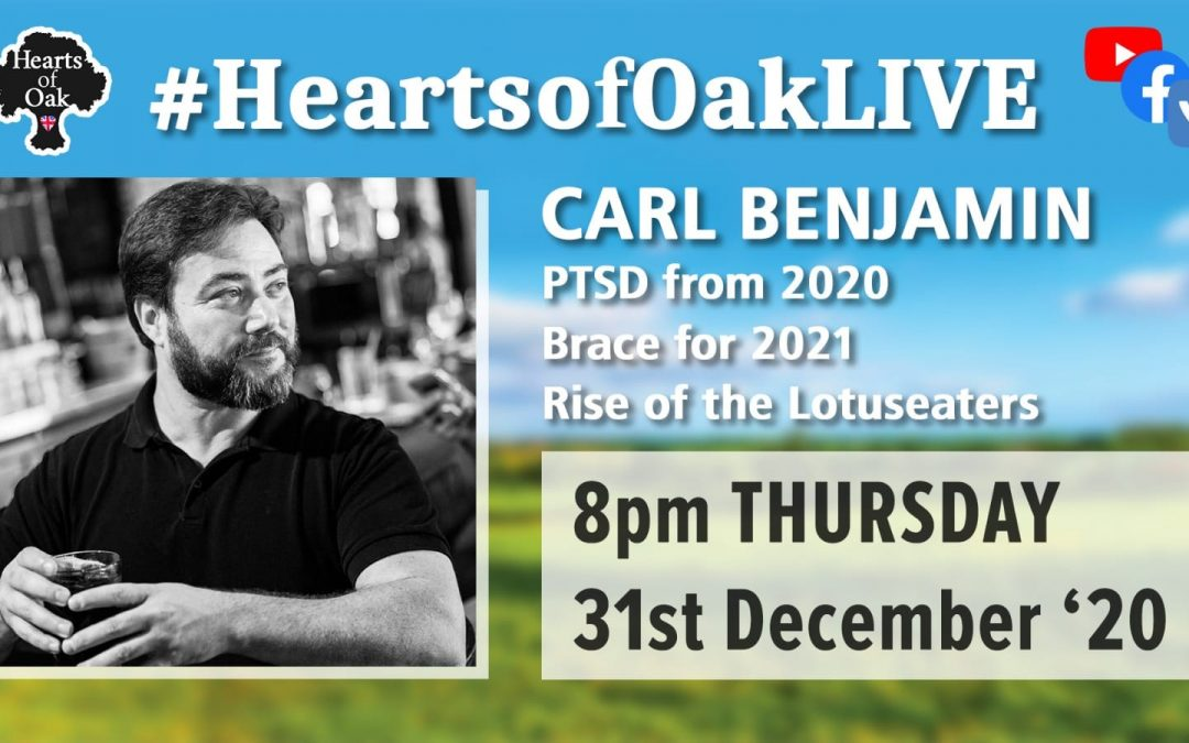 Carl Benjamin joins us to look forward to 2021