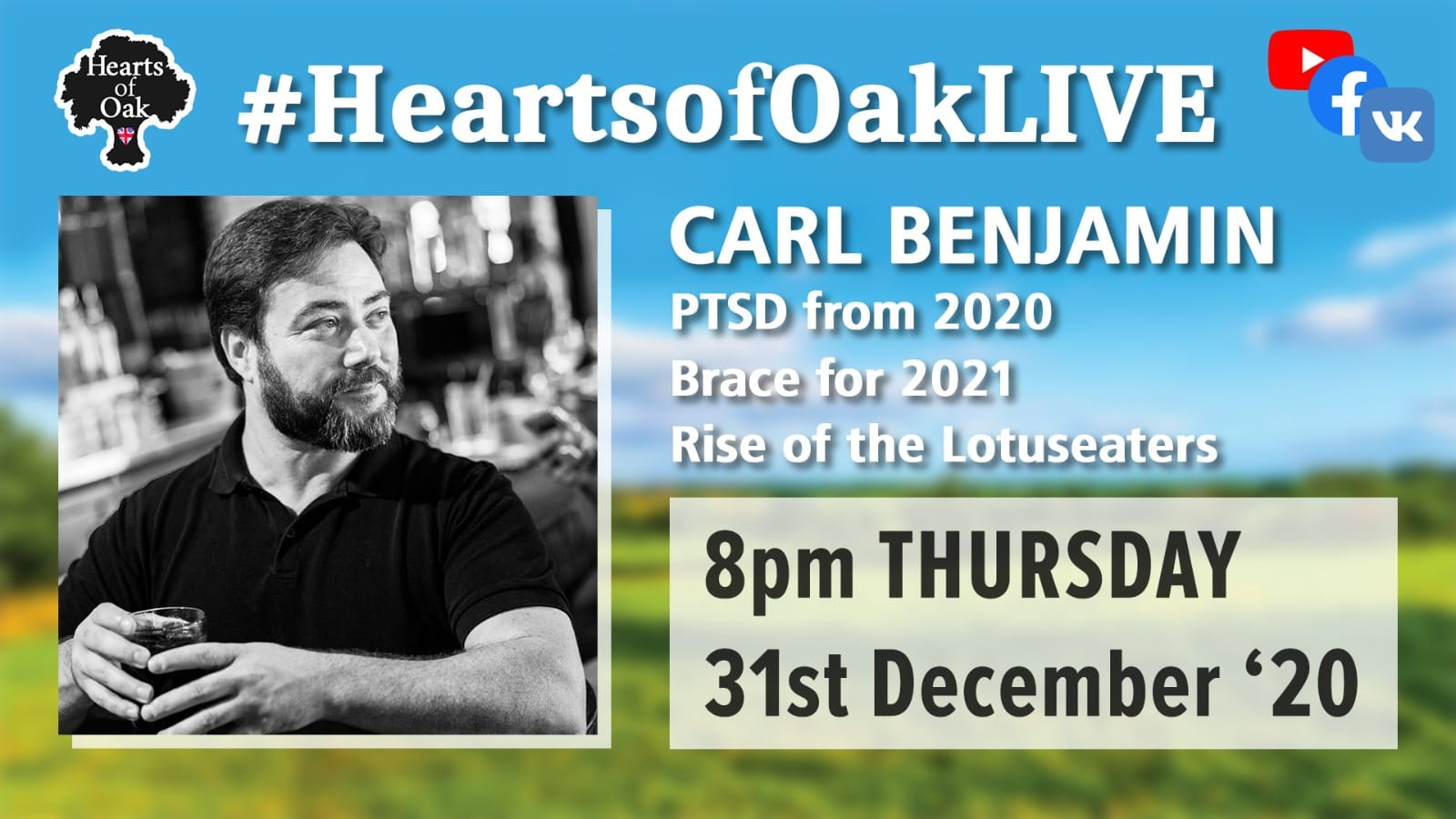 Carl Benjamin joins us to look forward to 2021