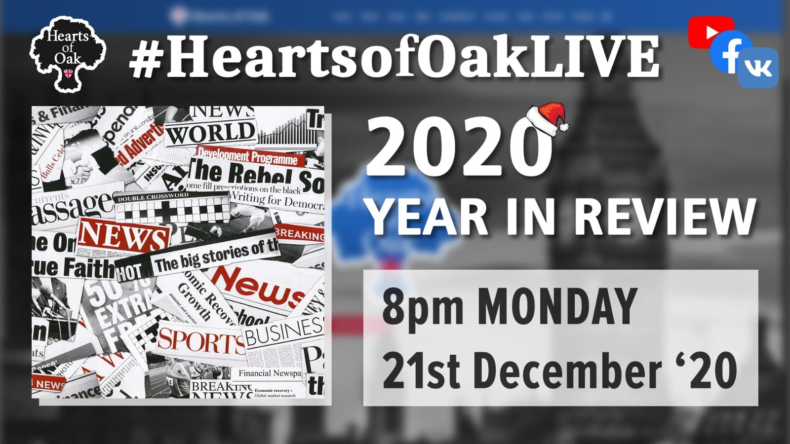 Hearts of Oak Year in review 2020