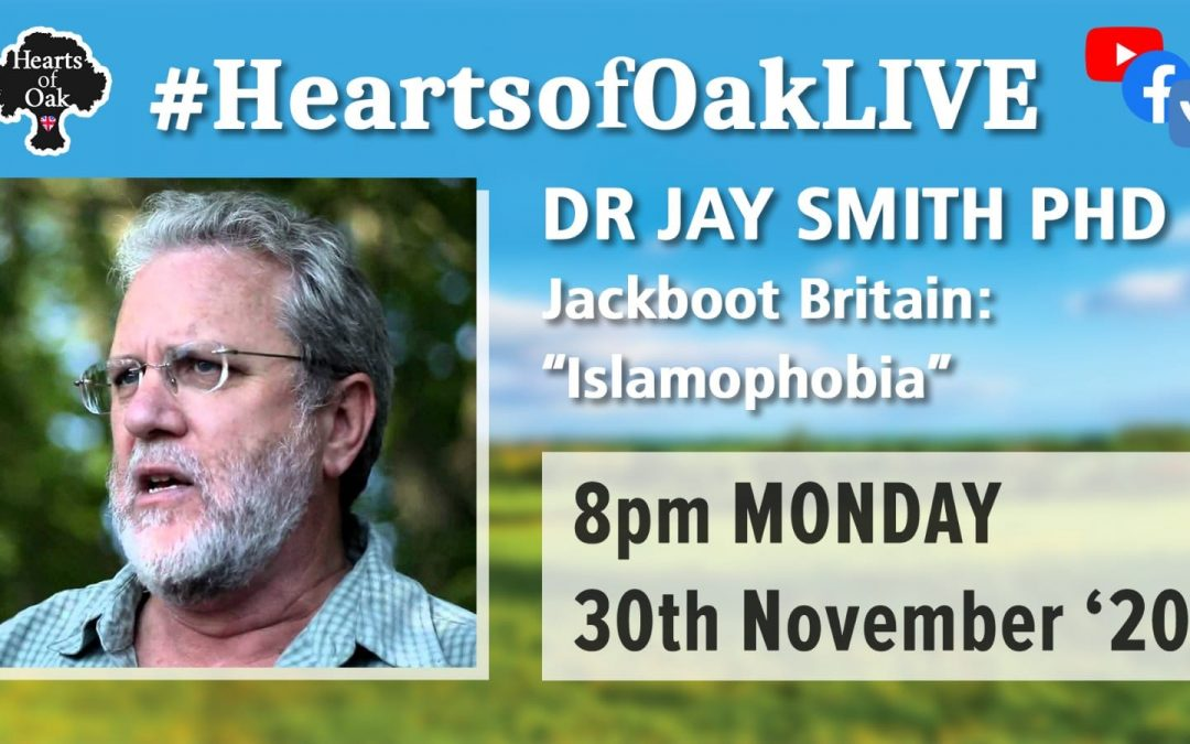 "Jackboot Britain: ""Islamophobia"" with Dr Jay Smith"