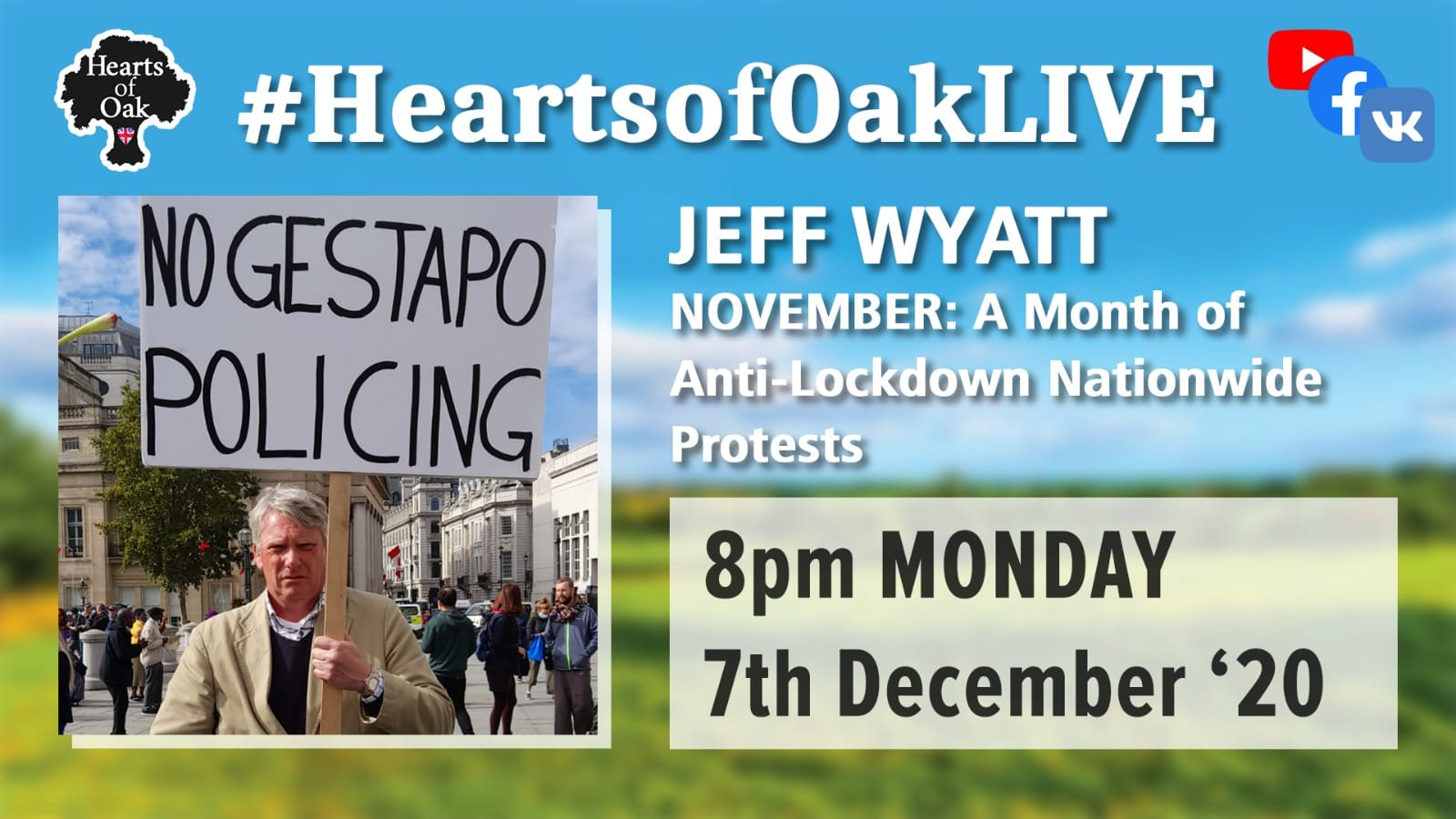 Jeff Wyatt on a month of anti-lockdown protests