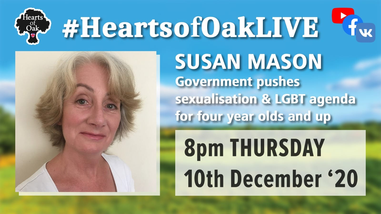 Susan Mason - Government pushes sexualisation and LGBT agenda on four year olds