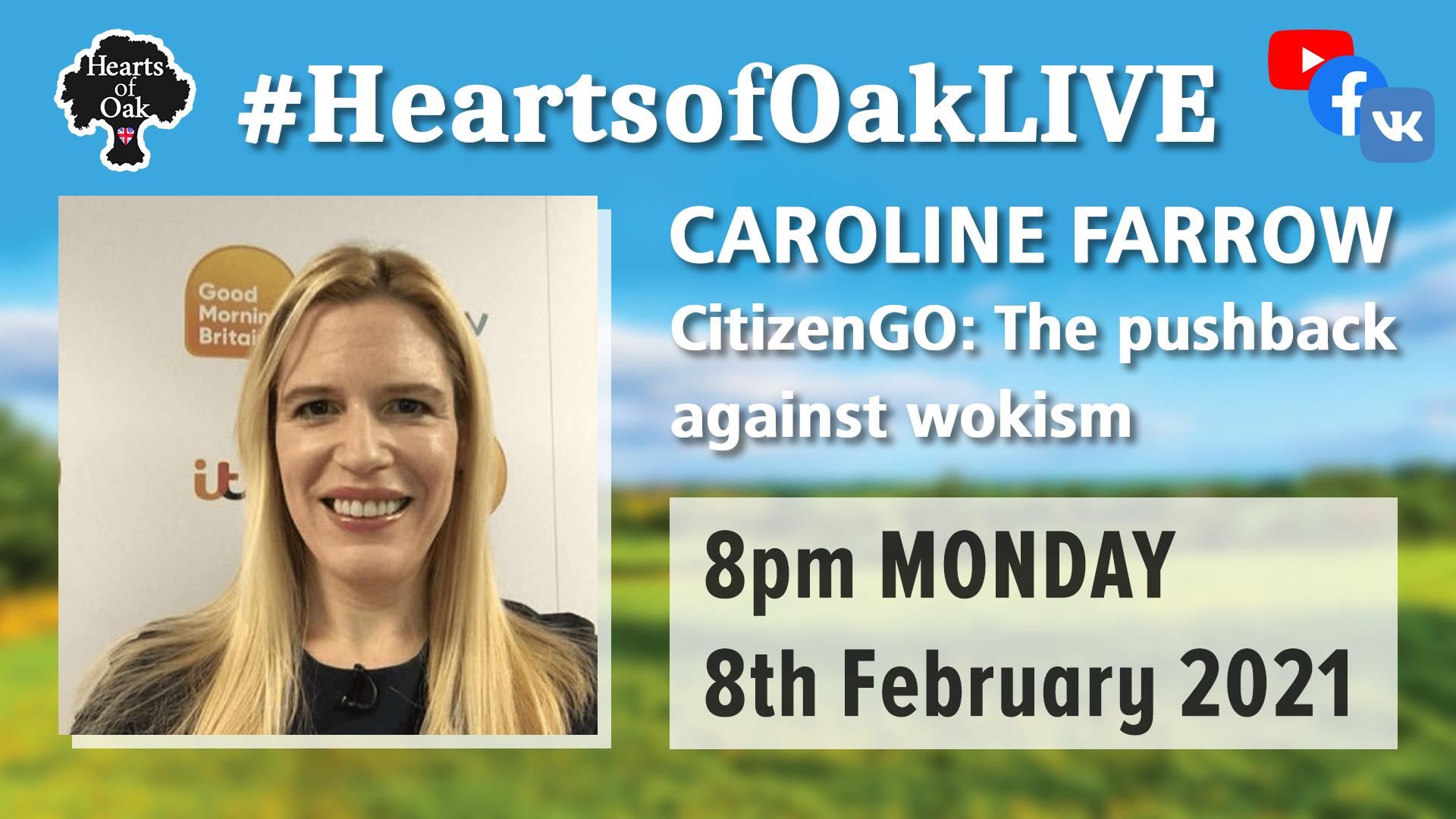 Caroline Farrow CitizenGO and the pushback against wokism