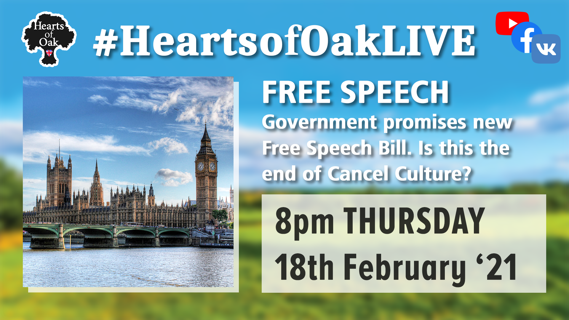 Free Speech: Government propose new Free Speech Bill. Is this the end of Cancel Culture?