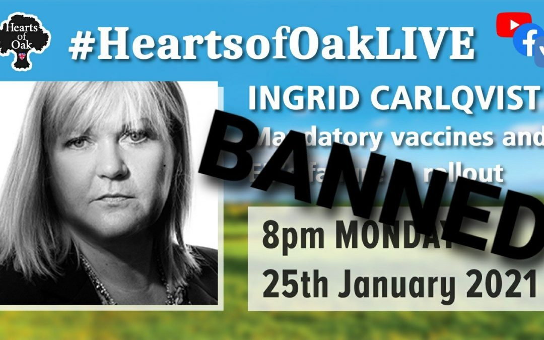 Ingrid Carlqvist joins us to discuss Mandatory Vaccines and the EU's rollout failure – Banned on YouTube