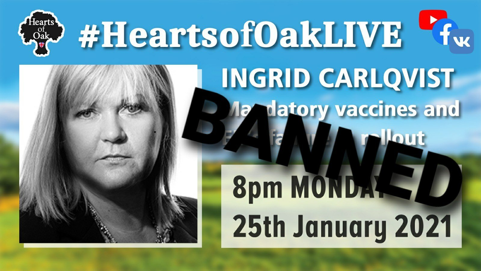 Ingrid Carlqvist joins us to discuss Mandatory Vaccines and the EU's rollout failure - Banned on YouTube