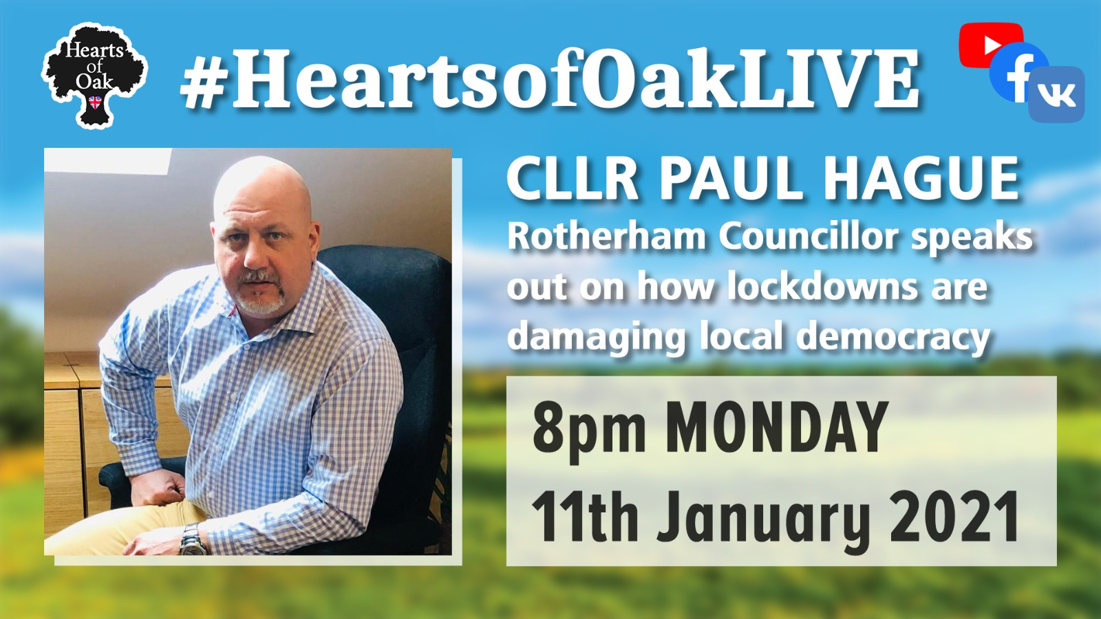 Cllr Paul Hague (Rotherham Councillor) speaks out on how lockdowns are damaging local democracy
