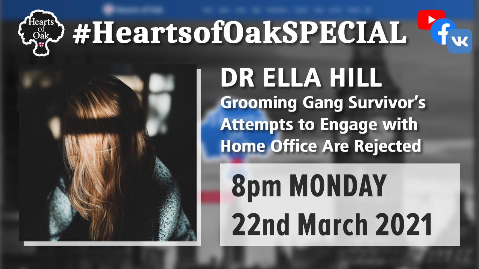 Dr Ella Hill: Grooming Gang Survivor's attempts to engage with the Home Office are rejected