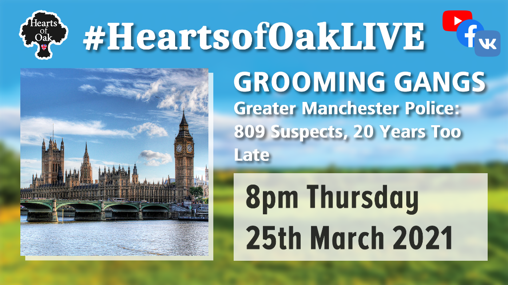 Grooming Gangs: Greater Manchester Police. 809 suspects. 20 years too late?