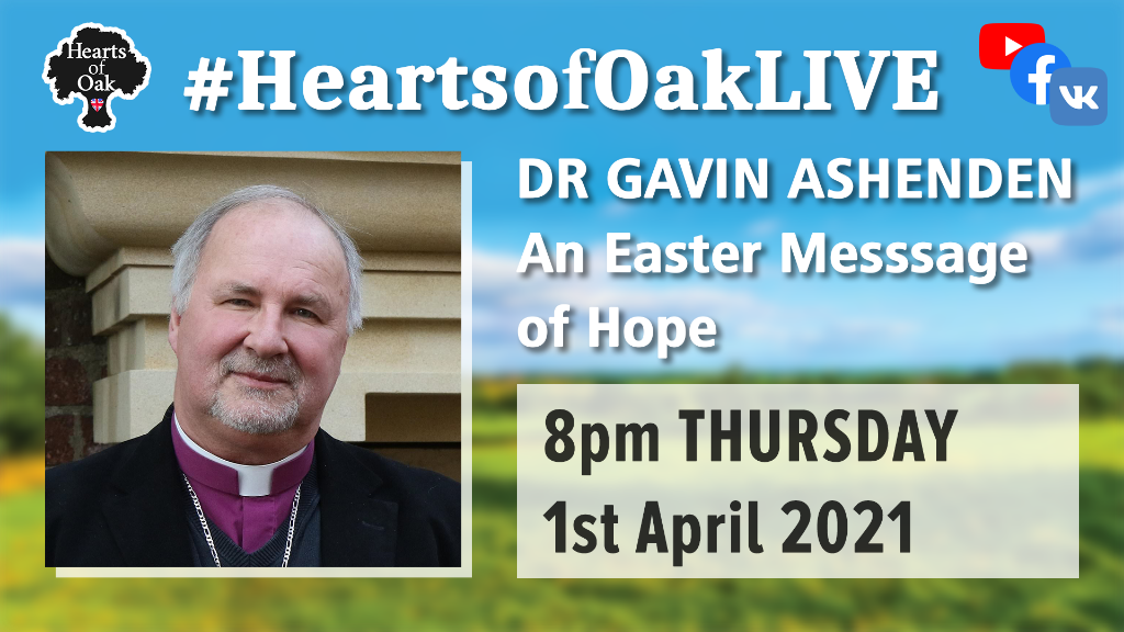 Dr Ashenden Ashenden: An Easter message of Hope