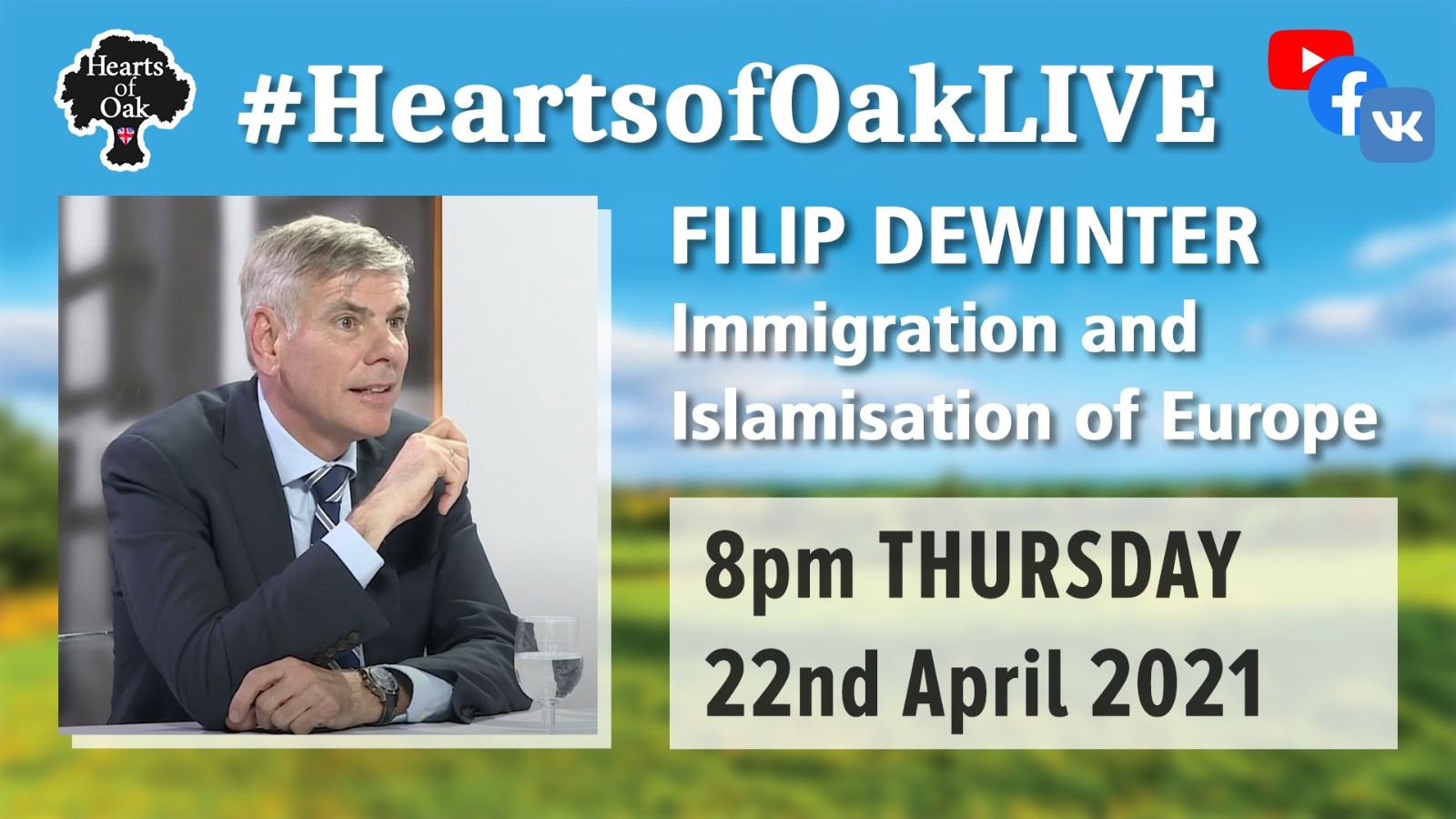 Filip Dewinter: Immigration and Islamisation of Europe