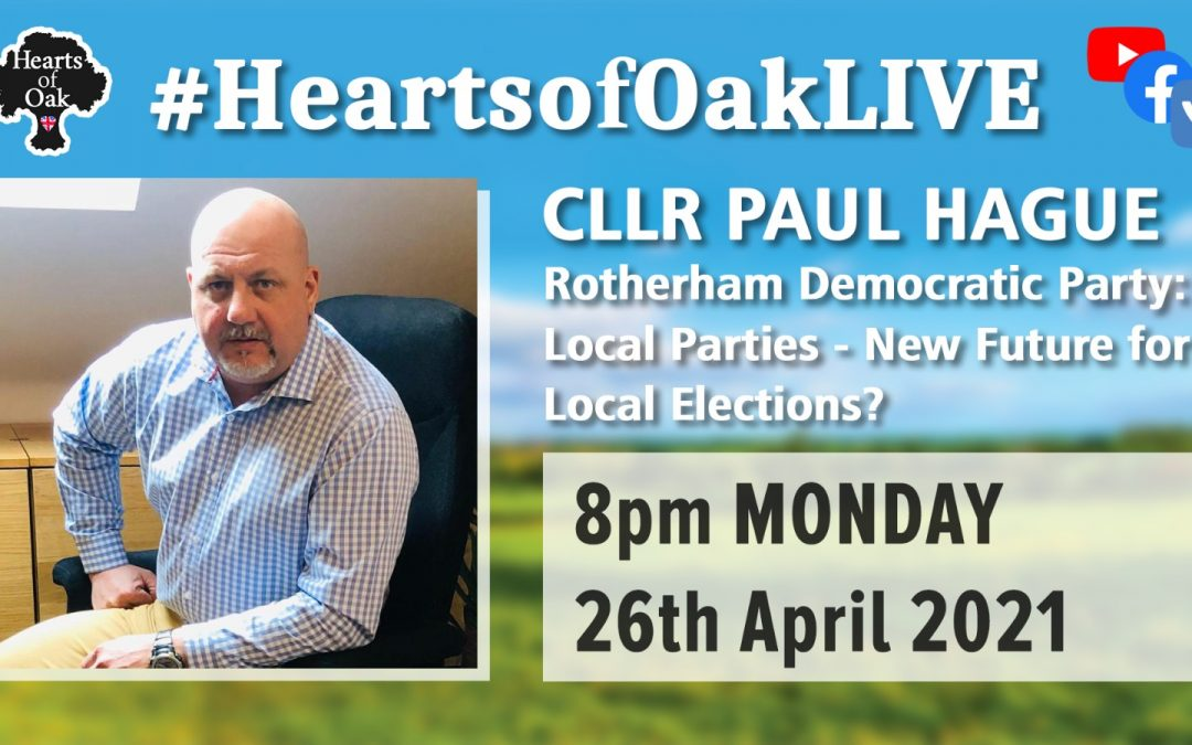 Cllr Paul Hague: Local Parties – New Future for Local Elections?