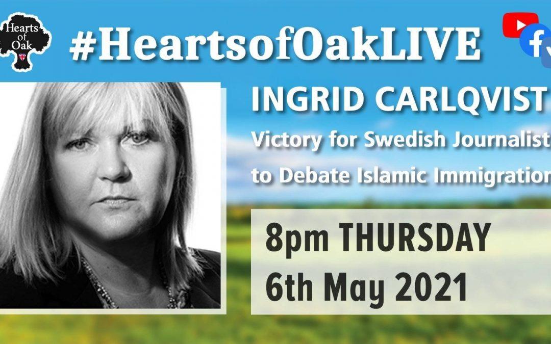 Victory for Swedish Journalist to Debate Islamic Immigration: Ingrid Carlqvist
