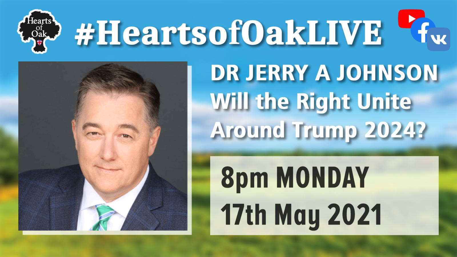Will the Right Unite around Trump 2024? with Dr Jerry A Johnson
