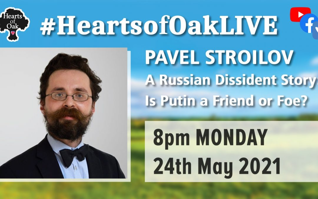 Pavel Stroilov: A Russian Dissident Story – Is Putin Friend of Foe?