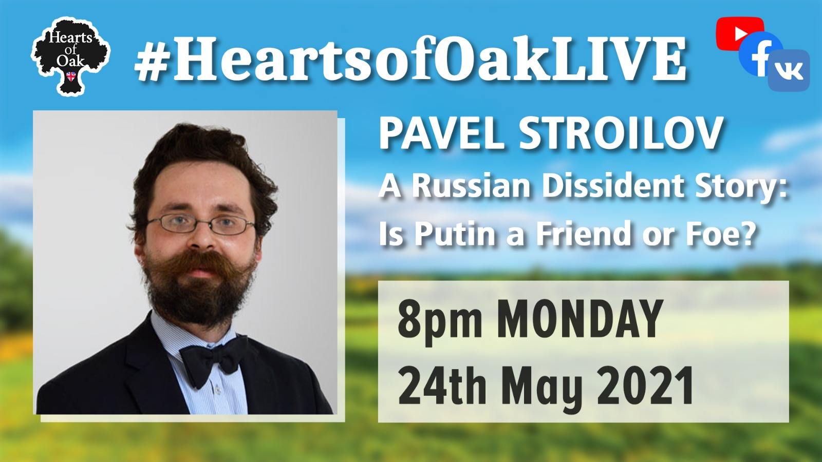 Pavel Stroilov: A Russian Dissident Story - Is Putin Friend of Foe?