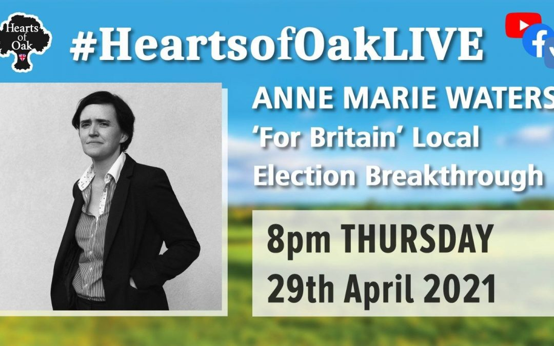 "Anne Marie Waters: ""For Britain"" Local Election Breakthrough"