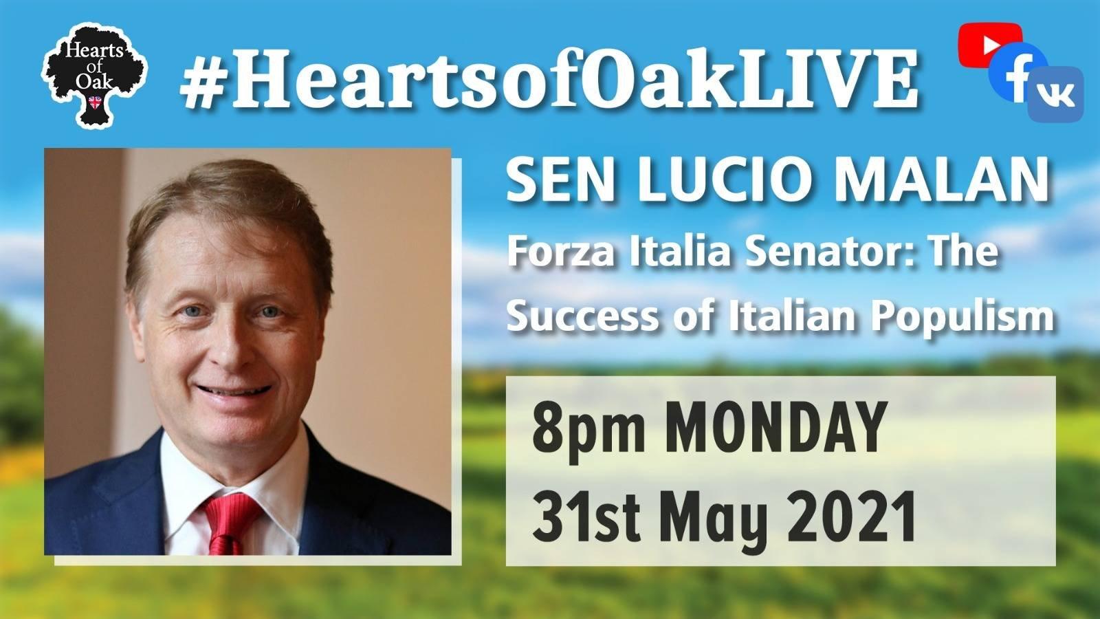 Senator Lucio Malan: The Success of Italian Populism