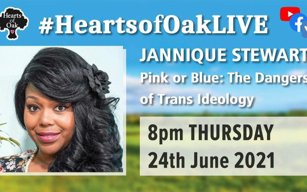 Jannique Stewart: Pink or Blue – The Dangers of Trans Ideology