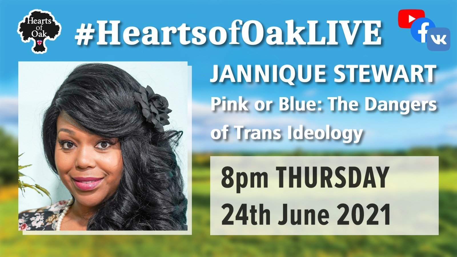 Jannique Stewart: Pink or Blue - The Dangers of Trans Ideology