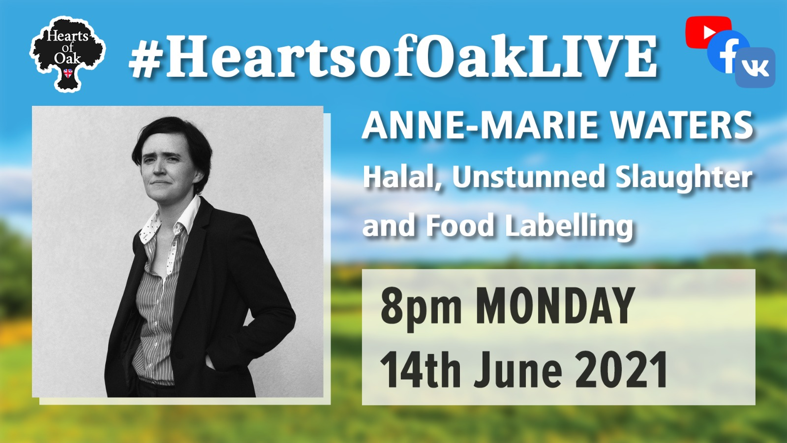 Anne-Marie Waters: Halal, Unstunned Slaughter and Food Labelling