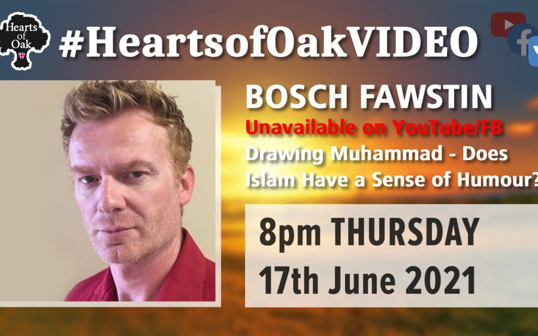 Bosch Fawstin: Drawing Muhammad – Does Islam have a sense of Humour?