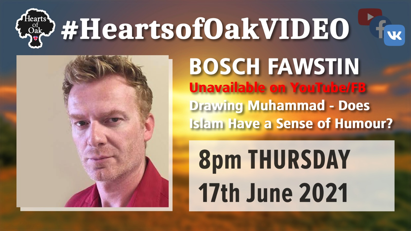 Bosch Fawstin: Drawing Muhammad - Does Islam have a sense of Humour?