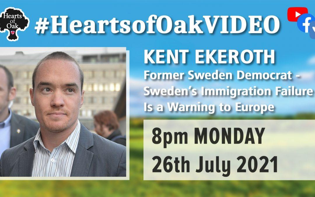 Kent Ekeroth: Former Sweden Democrat – Sweden's Immigration Failure is a Warning to Europe