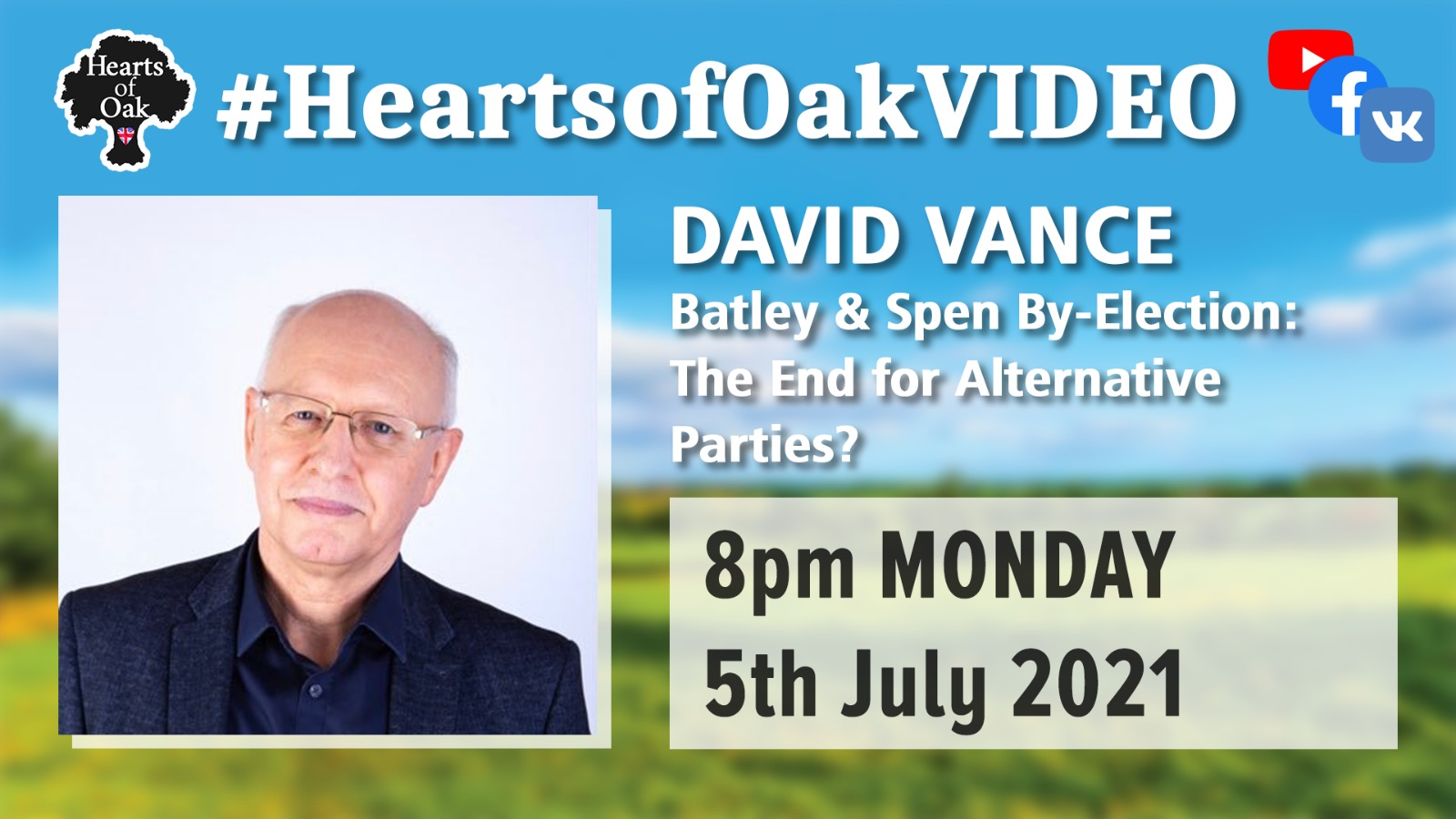 David Vance: Batley & Spen By-Election; The End for Alternative Parties?