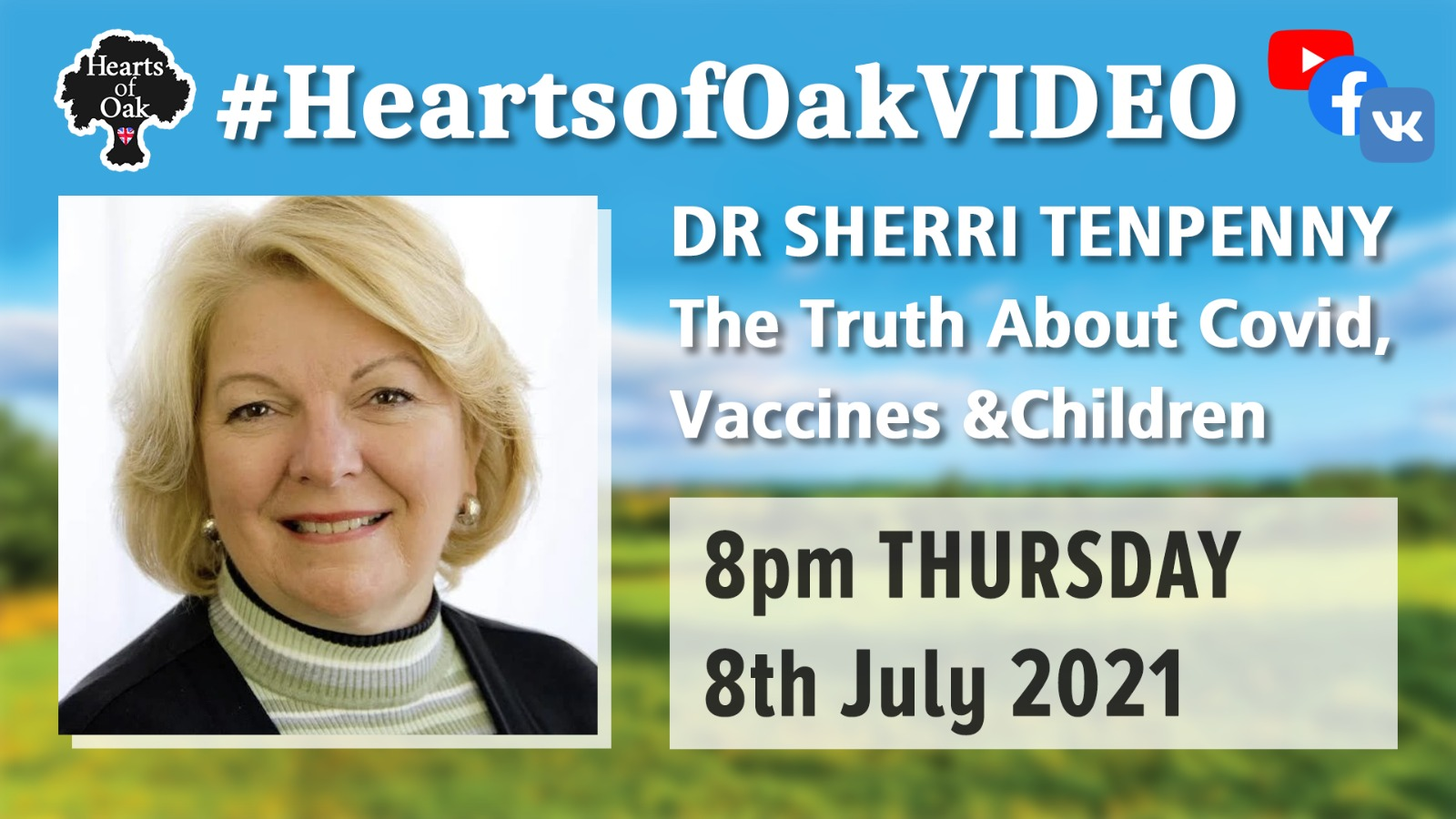 Dr Sherri Tenpenny: The Truth about Covid, Vaccines and Children