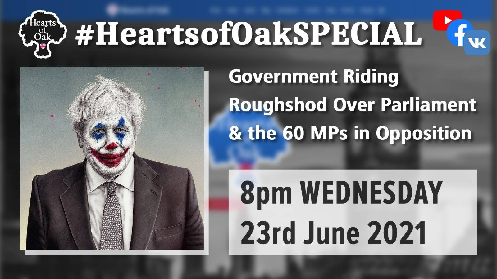 Government Riding Roughshod over Parliament & the 60 MP's in Opposition