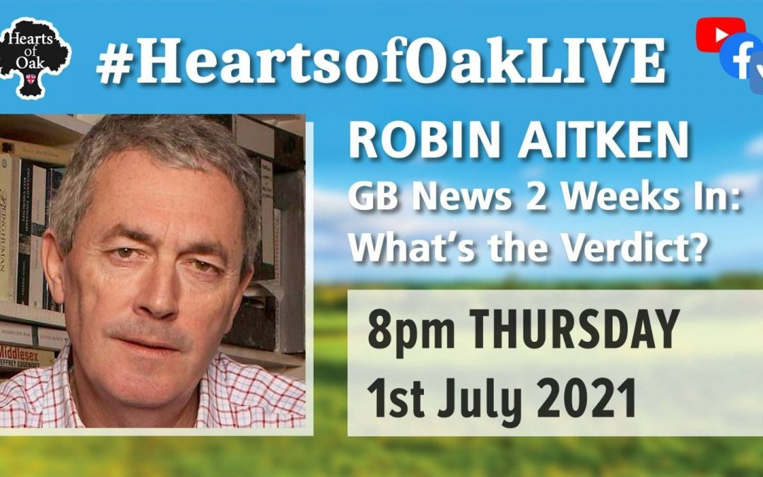 Robin Aitken: GBNews 2 weeks in – What's the Verdict?