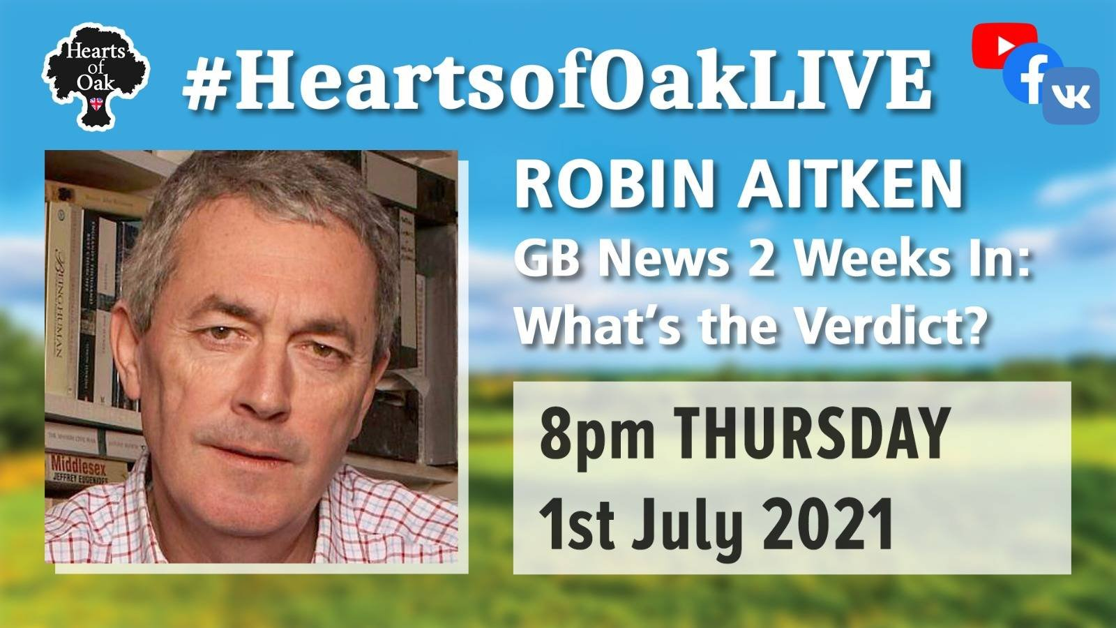 Robin Aitken: GBNews 2 weeks in - What's the Verdict?