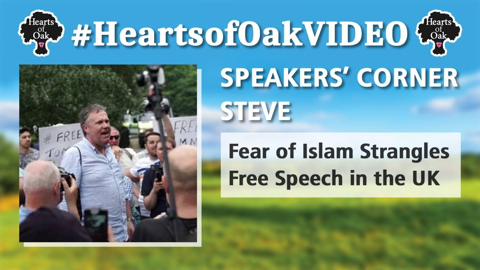 Speakers Corner Steve: Fear of Islam Strangles Free Speech in the UK