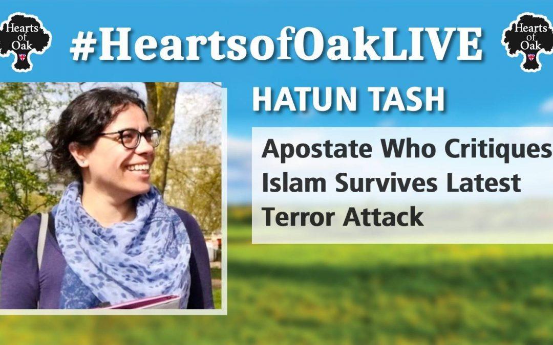 Hatun Tash – Apostate Who Critiques Islam Survives Latest Terror Attack
