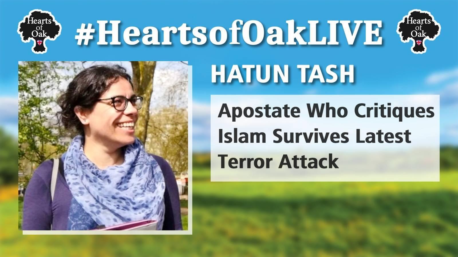 Hatun Tash - Apostate Who Critiques Islam Survives Latest Terror Attack