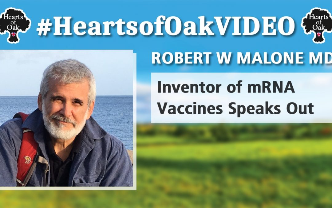 Robert W Malone MD  – Inventor of mRNA Vaccines Speaks Out