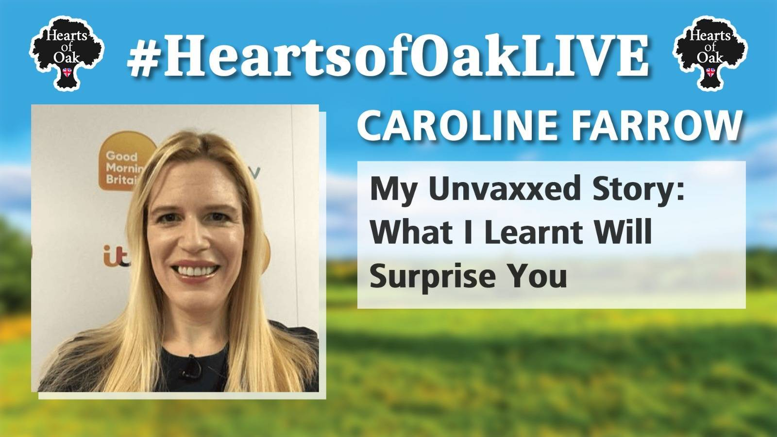 Caroline Farrow: My Unvaxxed Story - What I learnt will Surprise You