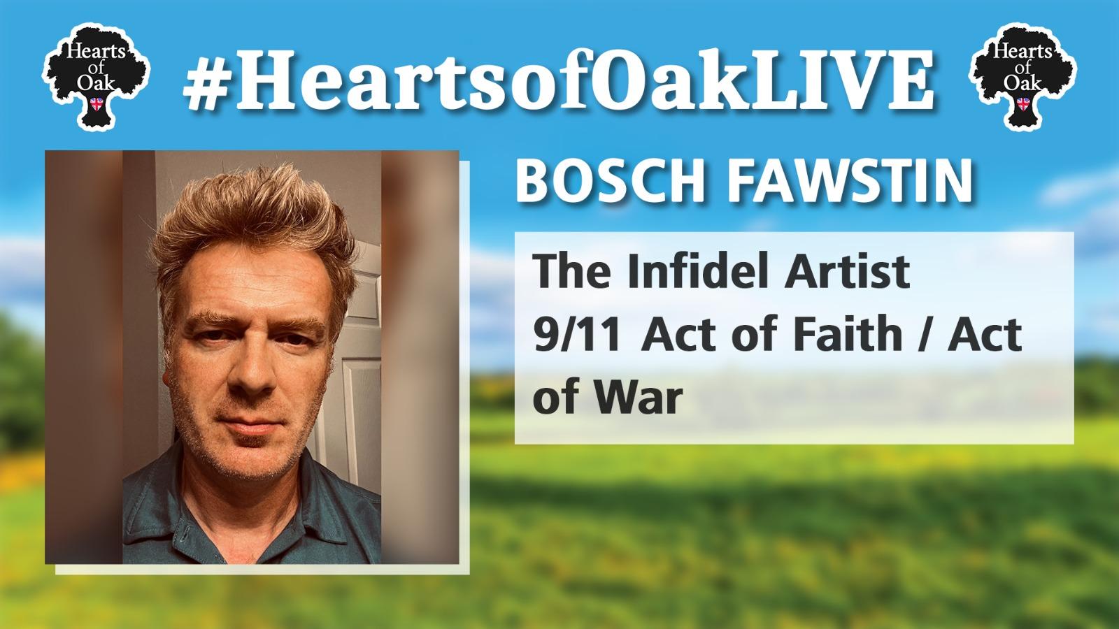 Bosch Fawstin: The Infidel Artist - 9/11 Act of Faith/Act of War