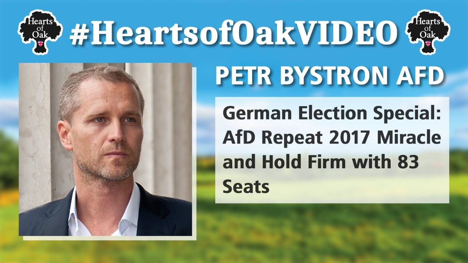 Petr Bystron: German Election Special. AfD Repeat 2017 Miracle and Hold Firm with 83 seats