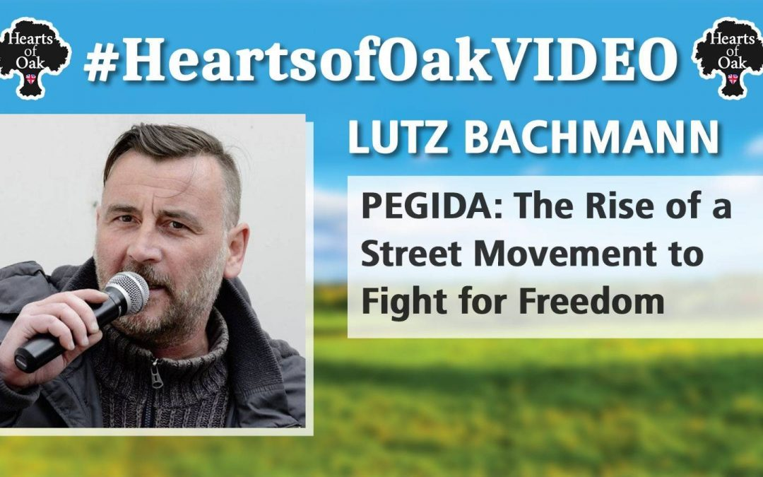 Lutz Bachmann: PEGIDA – The Rise of a Street Movement to Fight for Freedom